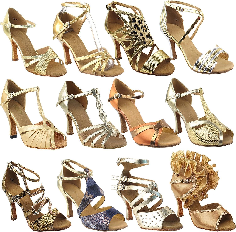 Amazon Com 50 Shades Of Gold Dance Dress Shoes Ballroom Salsa Wedding Clubing Swing Ballet Dance