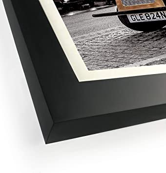 Amazon.com: Art Emotion Solid Wood Picture Frame with 2MM Reinforced Glass, Black 16x20 Frame for 11x14 Photo (16x20 Without Mat), Pack of 4: Home & Kitchen