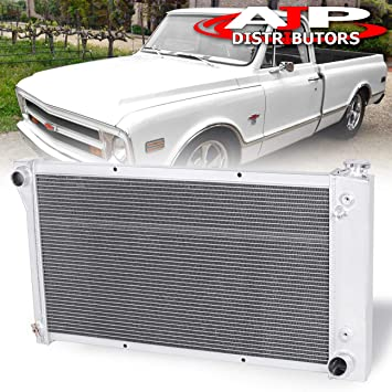 67 68 69 70 71 72 Chevy Blazer /& GMC Jimmy A//C Heavy Duty 3 Row DR Radiator