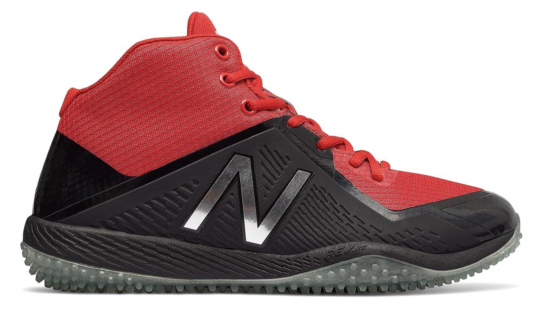 (ニューバランス) New Balance 靴シューズ メンズ野球 New Balance x Stance Turf 4040v4 Black with Red ブラック レッド US 13 (31cm) B076DBSPDZ