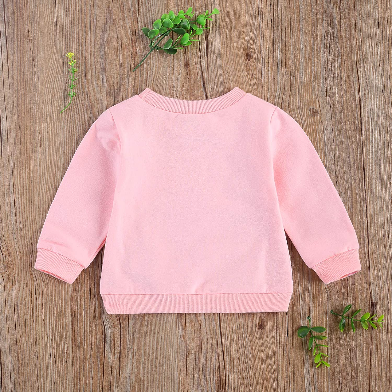Mekysd Toddler Baby Girl Leopard Sweater Tops Fashion Long Sleeve Blouse Pullover Casual Top One Piece Outfits