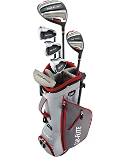 Amazon.com: Top Flite - Juego completo de palos de golf para ...