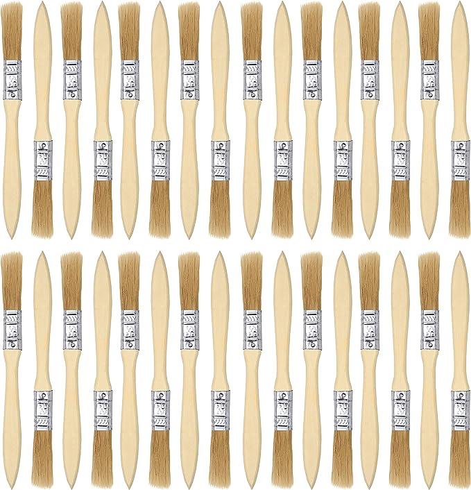 Pinceles para pintar (paquete de 36) - Medidas pincel para barniz ...