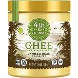 4th & Heart Vanilla Bean Ghee Butter Grass-fed, 16 Ounce