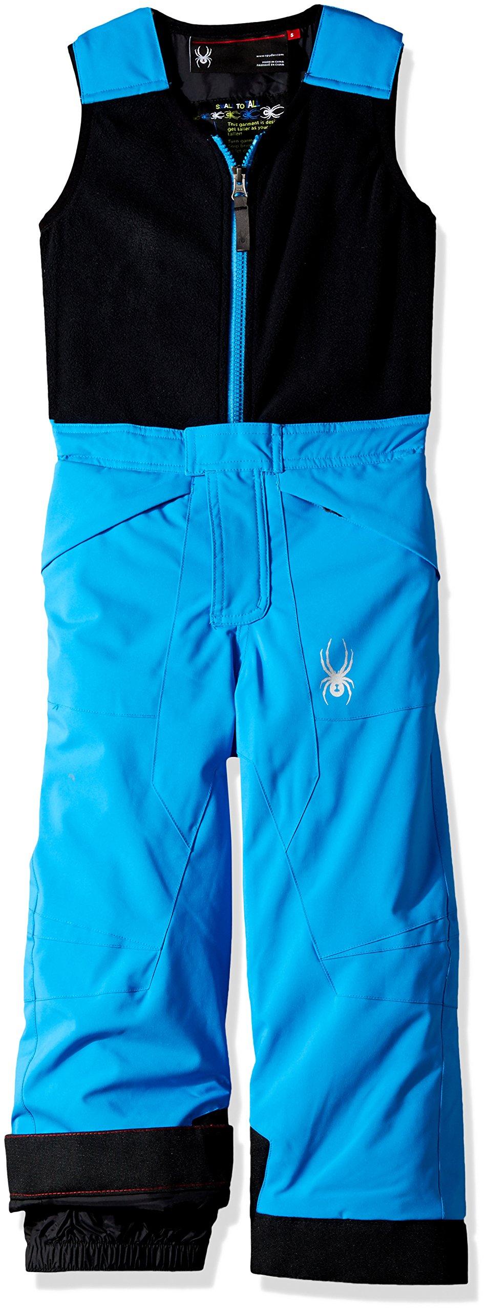 Spyder Mini Expedition Ski Pant, French Blue/Black, Size 5 by Spyder