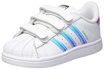 new concept 97b3b 64002 adidas Unisex Babies' Superstar Cf I Gymnastics Shoes