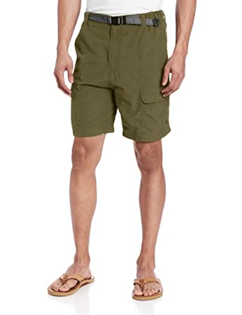 Amazon.com: White Sierra Men's Safari Shorts (8-Inch Inseam), Sage ...