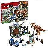 LEGO Juniors - Fuga del T Rex, Set de Construcción de Juguete de Dinosaurio con Muñeco del Tiranosaurio y Minifiguras…