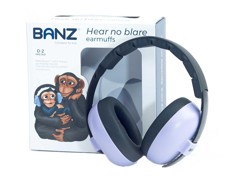 BANZ BABY BUBZEE EARMUFFS , cuffie paraorecchie di protezione acustica per bambini dai 0 ai 2 anni.