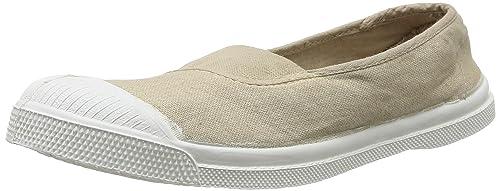 Bensimon Tennis - Zapatillas de Deporte de Canvas para Mujer Beige Beige (Coquille 105)