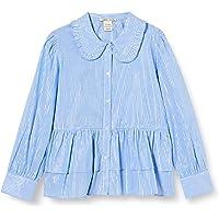Scotch & Soda Boxy Fit Shirt with Big Ruffle Edge Collar Blusa para Niñas