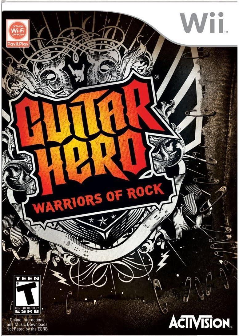Amazon Guitar Hero Warriors Of Rock Stand Alone Software