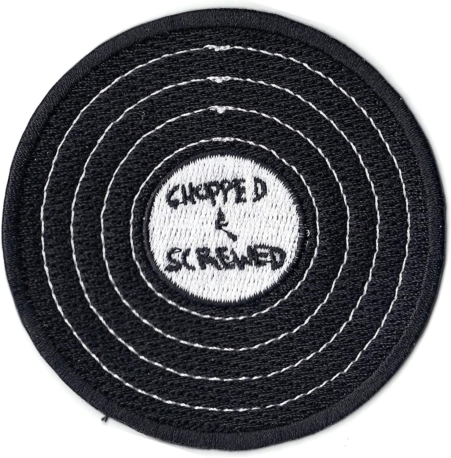Chopped And Screwed Houston Texas Embroidered Iron On Patch