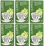 (6 PACK) - Clipper - Green Tea With Ginseng | 20 Bag | 6 PACK BUNDLE