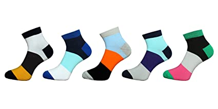 c4bb24171 Image Unavailable. Image not available for. Colour  Step In Socks printed ankle  length socks for men ...