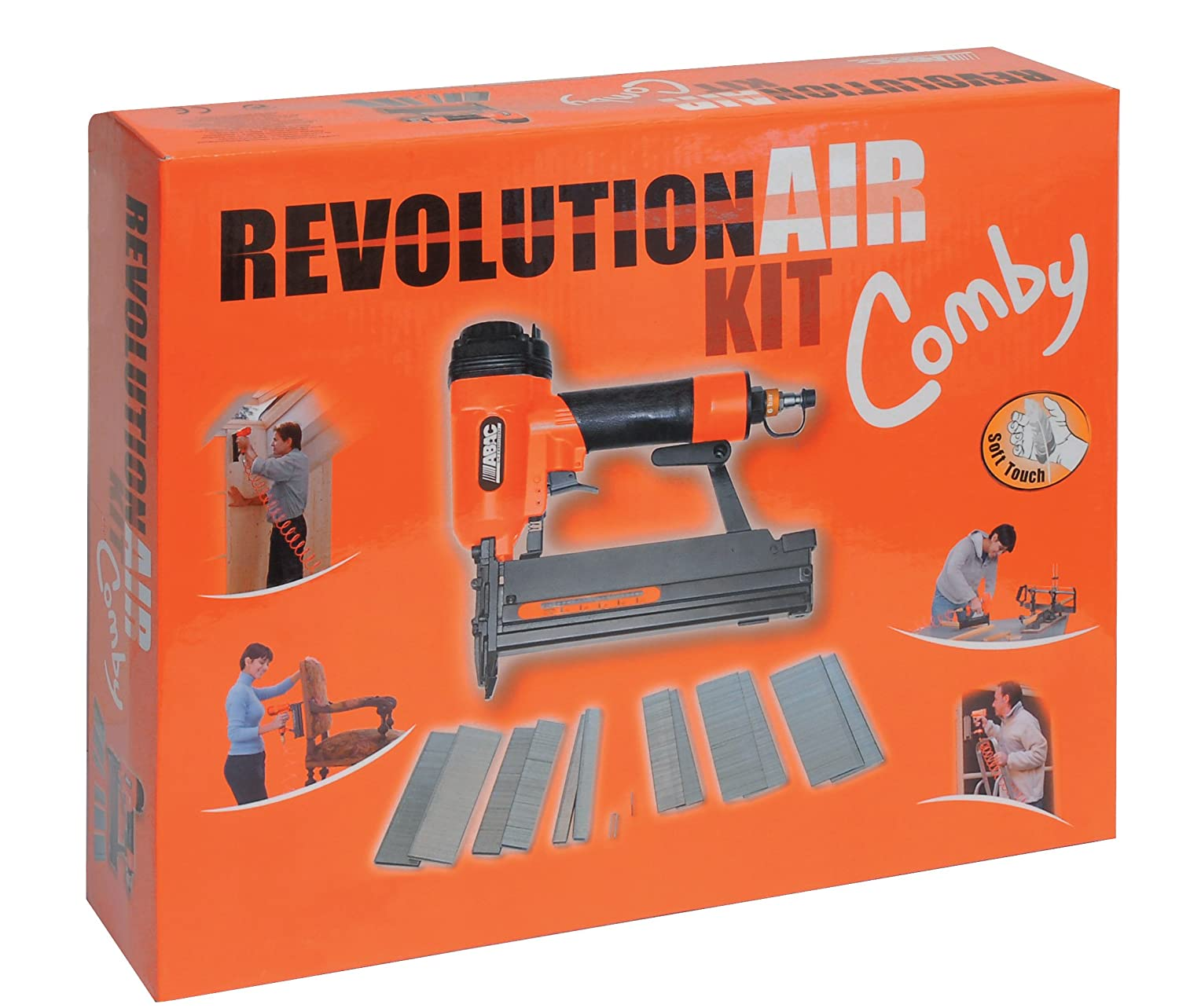 Revolution'Air 8221594 Kit agraffeuse/Cloueuse Mecafer Comby Kit
