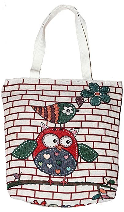 04f01a91765 Image Unavailable. Image not available for. Color  Owl Tote Boho Hobo  Bohemian Shopping Hippie Bag Purse N02