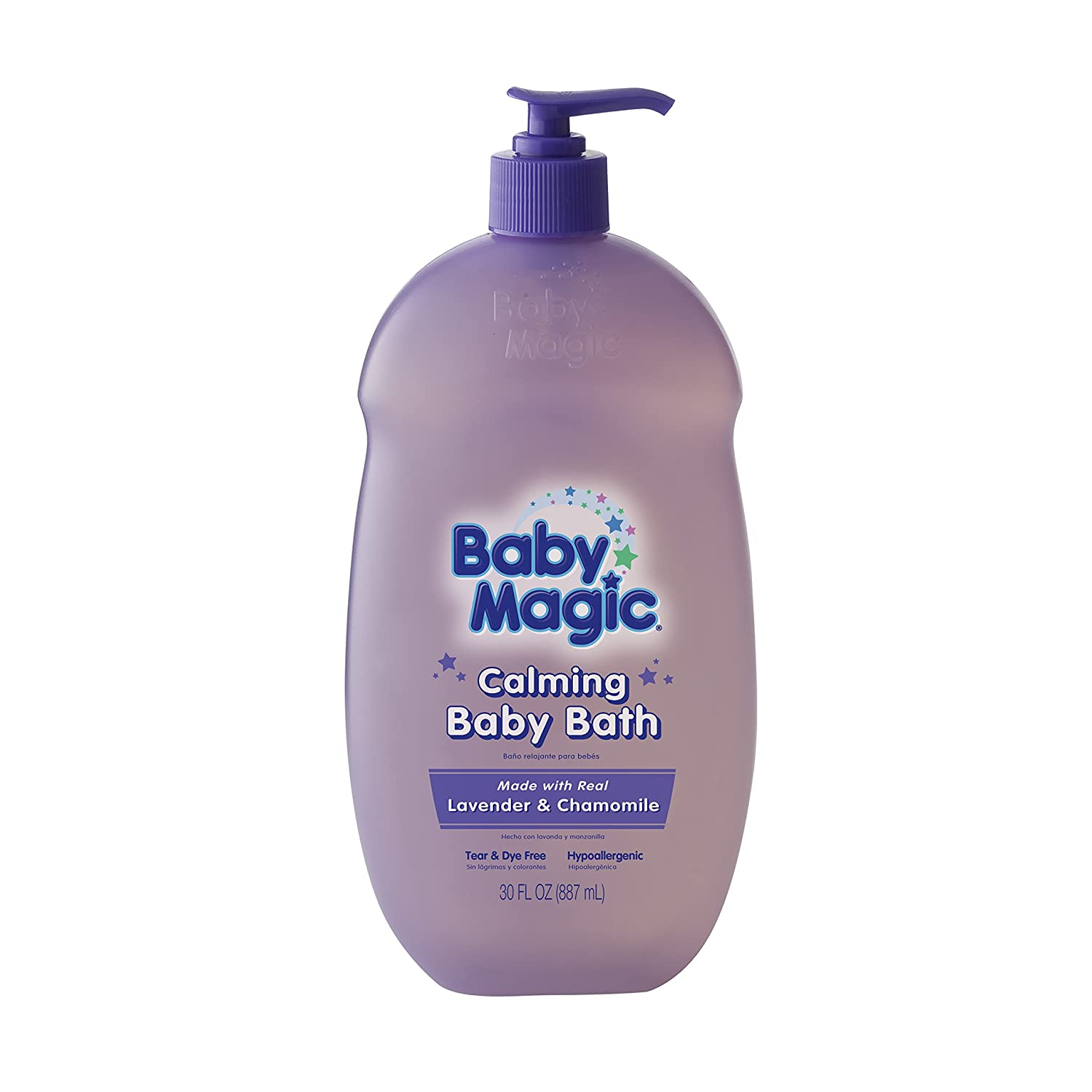 Baby Magic Calming Baby Bath, Lavender and Chamomile, 30 Ounces NATERRA031989