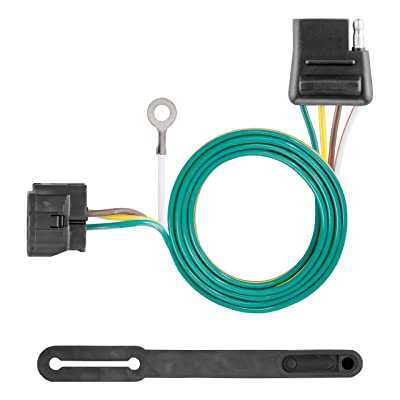 CURT 58918 Towed-Vehicle RV Wiring Harness Add-On, 4-Pin Trailer Wiring: Automotive