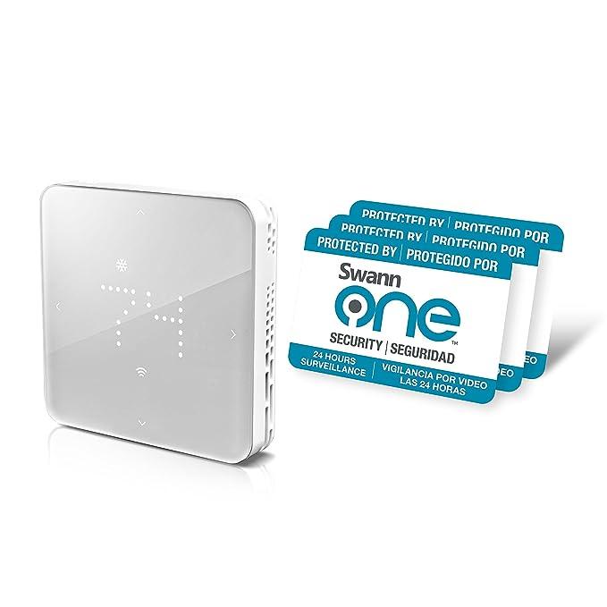 Swann SWO-ZTH01K-US One Zen Thermostat (White) on
