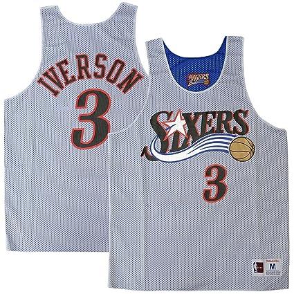 2a1a5dd33 Mitchell   Ness Allen Iverson Philadelphia 76ers 2004 All Star Reversible  Tank