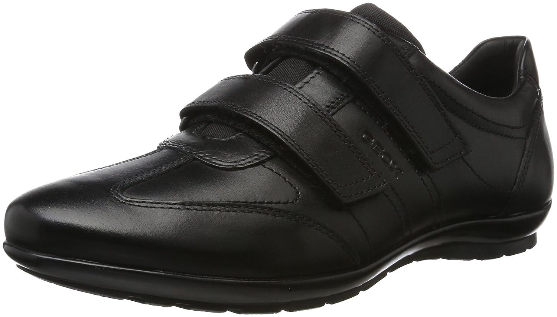 TALLA 42 EU. Geox Uomo Symbol D, Zapatos con Velcro para Hombre