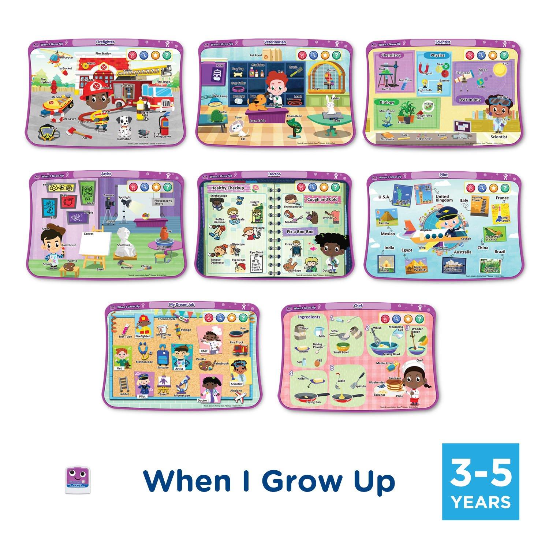 VTech Activity Desk 4-in-1 Kindergarten Expansion Pack Bundle for Age 3-5 by VTech (Image #5)
