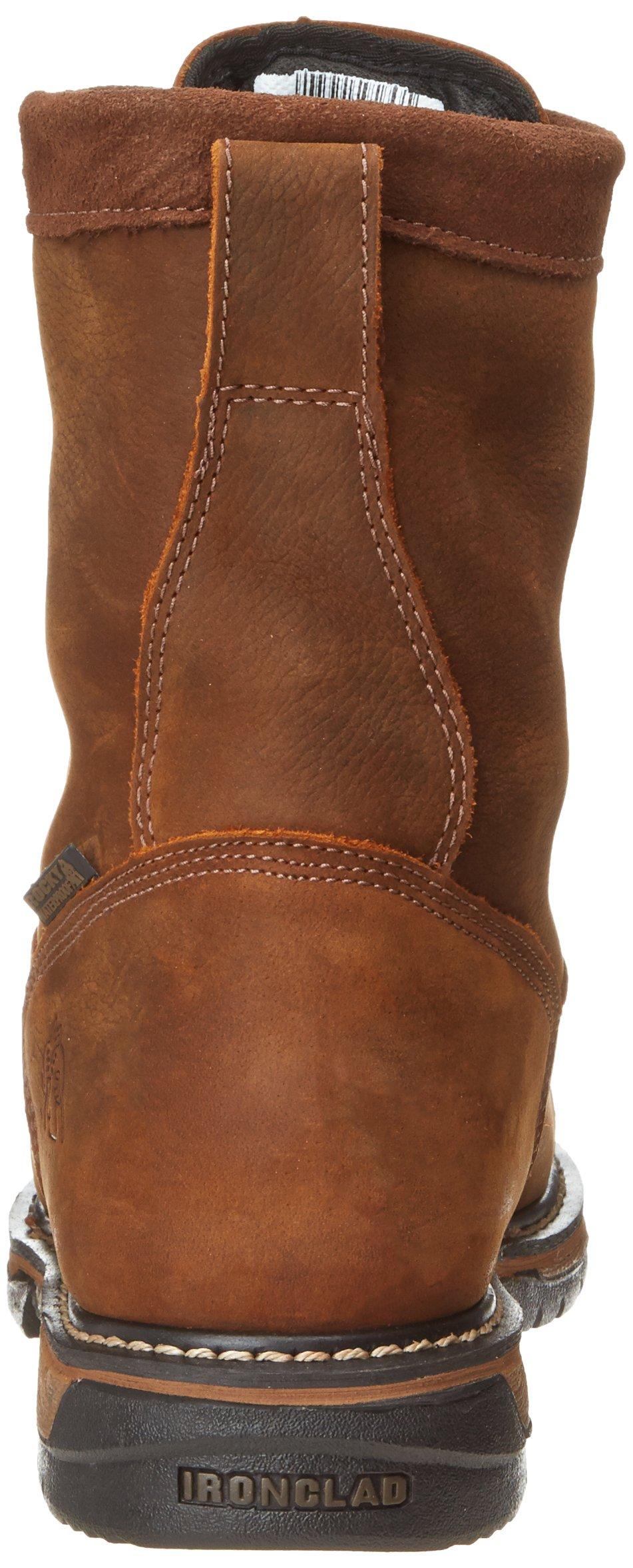 Rocky Men's Iron Clad Eight Inch LTT Steel Toe Work Boot,Brown,13 M US by Rocky (Image #2)