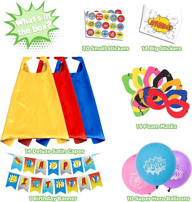 Amazon.com: Capas de superhéroe para juguetes infantiles ...