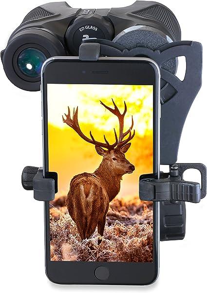 Carson HookUpz Adaptador Digiscoping Universal de Smartphone a ...