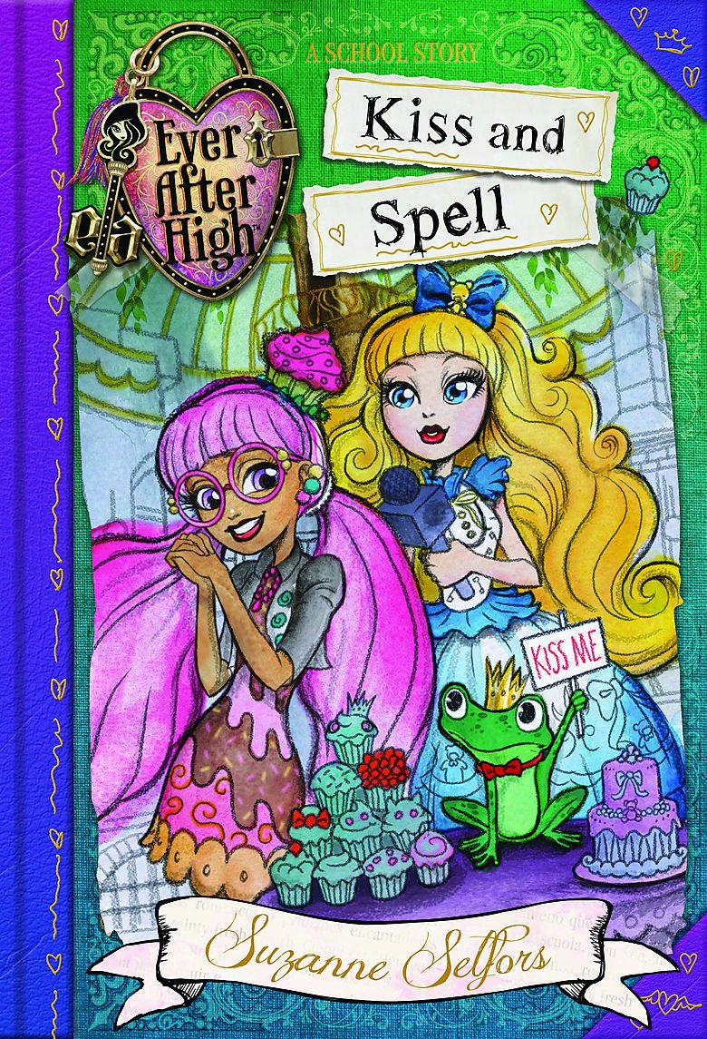 Download Kiss and Spell: A School Story (Ever After High) pdf epub