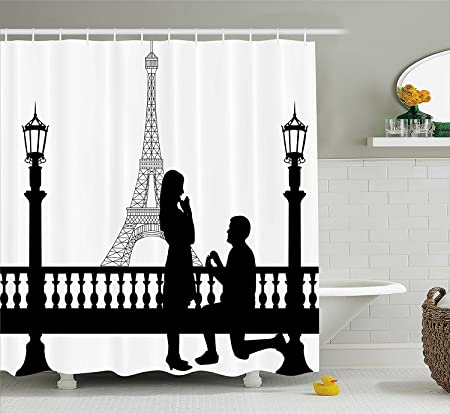 ade6afd0e23 Engagement Party Decorations Shower Curtain