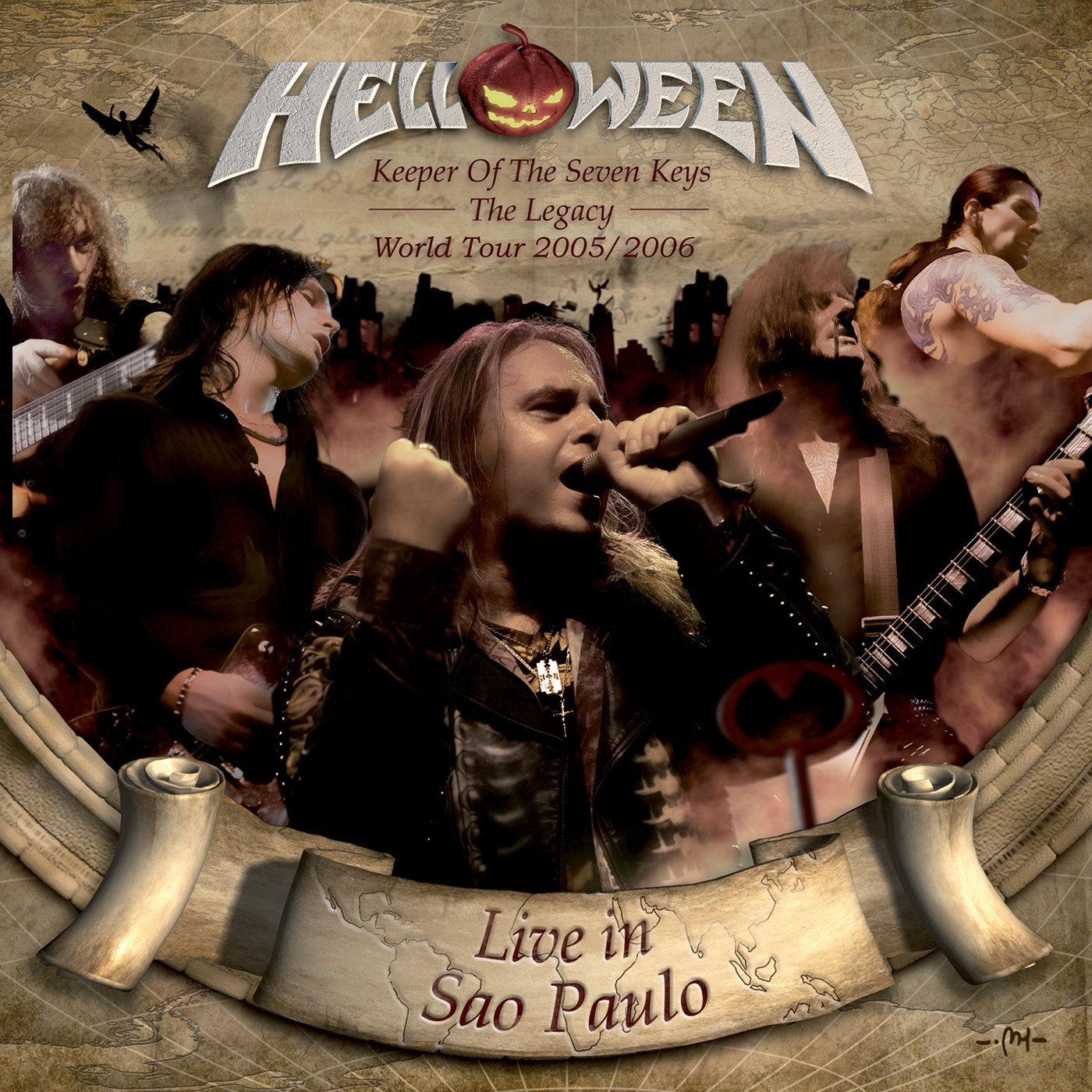 Keeper Of The Seven Keys: The Legacy World Tour - Live In Sao Paulo (2CD)