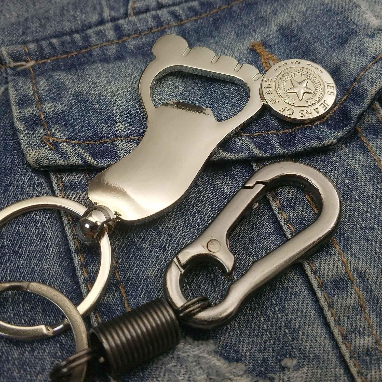 Ponas Football Key chian Bottle Opener Spring Keychain.