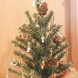Amazon クリスマス チャーム アクセサリー パーツ 38個セット ペンダント 人形 動物 おもちゃ