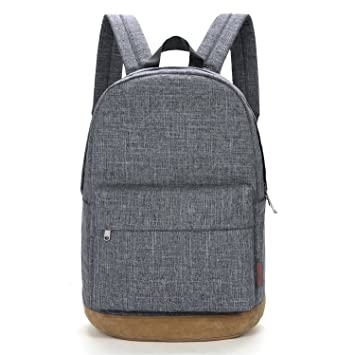 buy popular wide selection of colours and designs great variety styles Tinyat College Bookbag Laptop Backpack Stylish School Bag Hiking Daypack  Rucksack T101, Grey