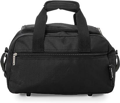 Oferta amazon: Aerolite Holdall Maximum Ryanair Hand Luggage Cabin Sized Flight Shoulder Bag Equipaje de Mano, 35 cm, 14 Liters, Negro (Black)