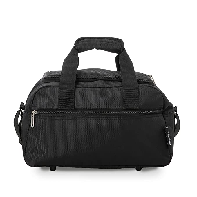 Aerolite Ryanair Cabin Bags 35x20x20 Hand Luggage Holdall - Carry on for  Free with Ryanair! (Black)  Amazon.co.uk  Luggage 83f0f91c6554f