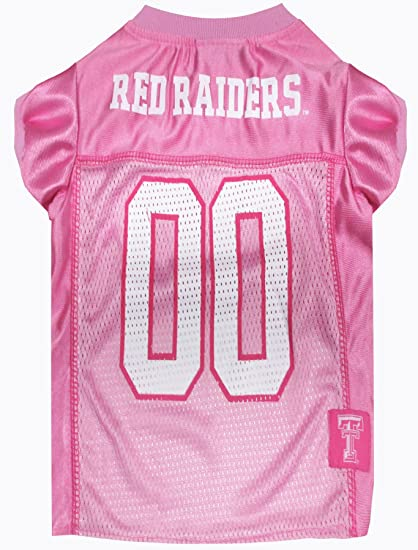 NCAA Texas Tech Red Raiders Athletic Mesh Dog Jersey
