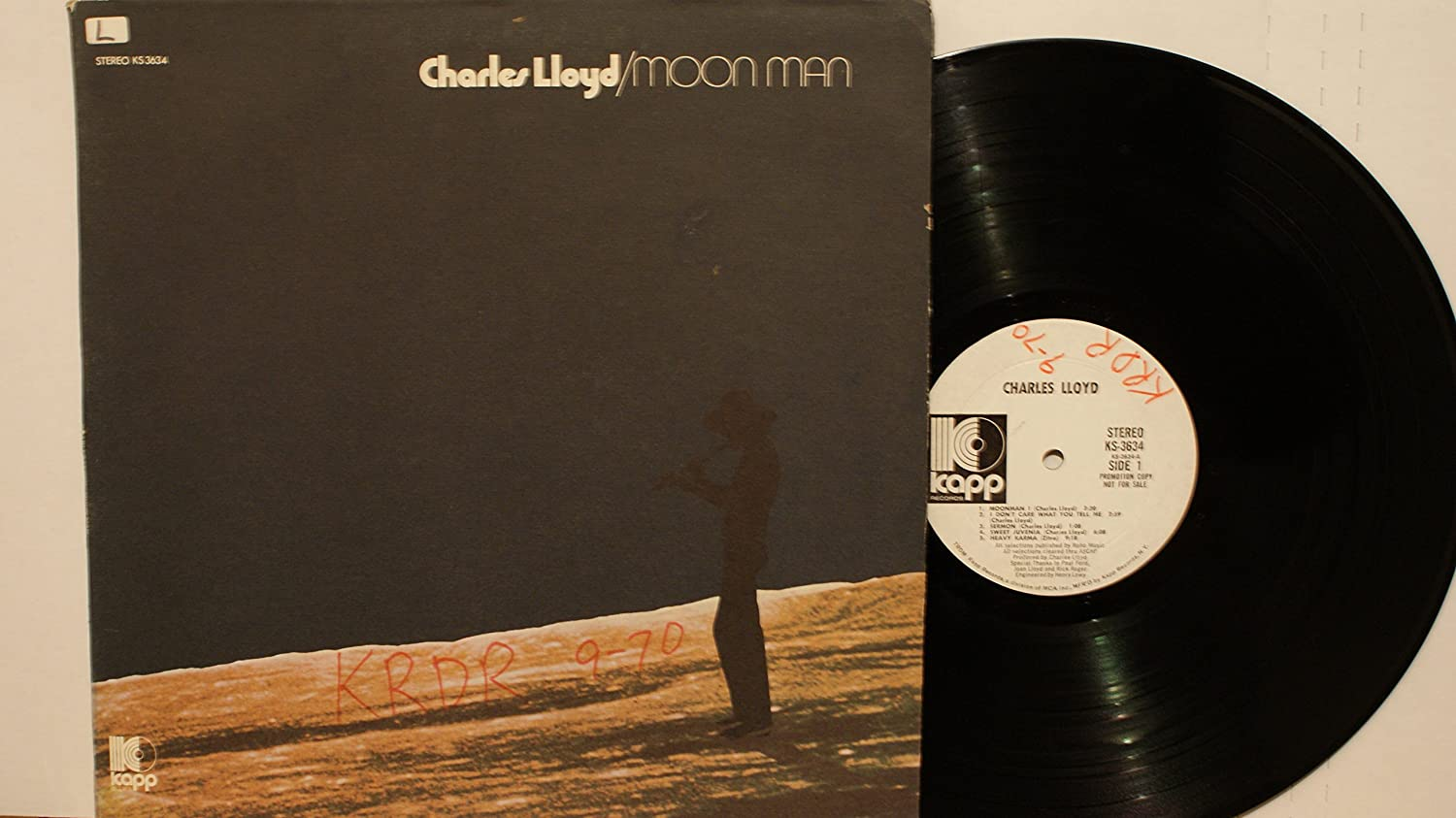lowest discount affordable price online for sale CHARLES LLOYD LP, MOON MAN, US ISSUE EX/EX VINYL: Amazon.co ...
