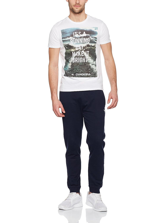 Diadora Camiseta Manga Larga Blanco Óptico M: Amazon.es: Ropa y ...