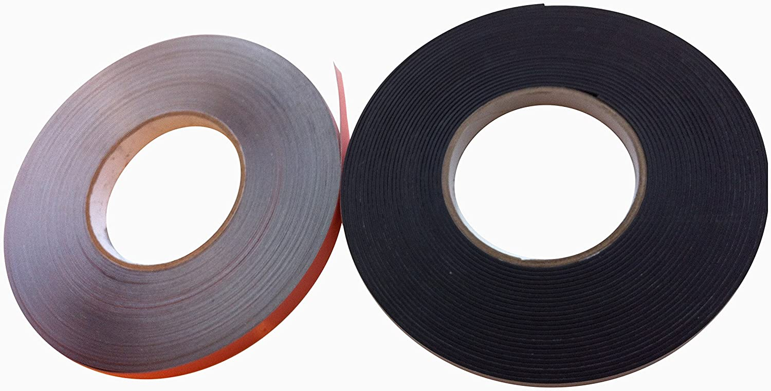 Magnetic Tape & Steel Tape Secondary Glazing - 5M Kit For White Window Frames Direct Products