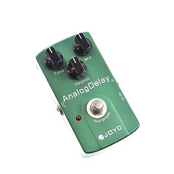 Joyo JF-33 - Pedal de efecto delay para guitarra (batería zinc carbono): Amazon.es: Instrumentos musicales
