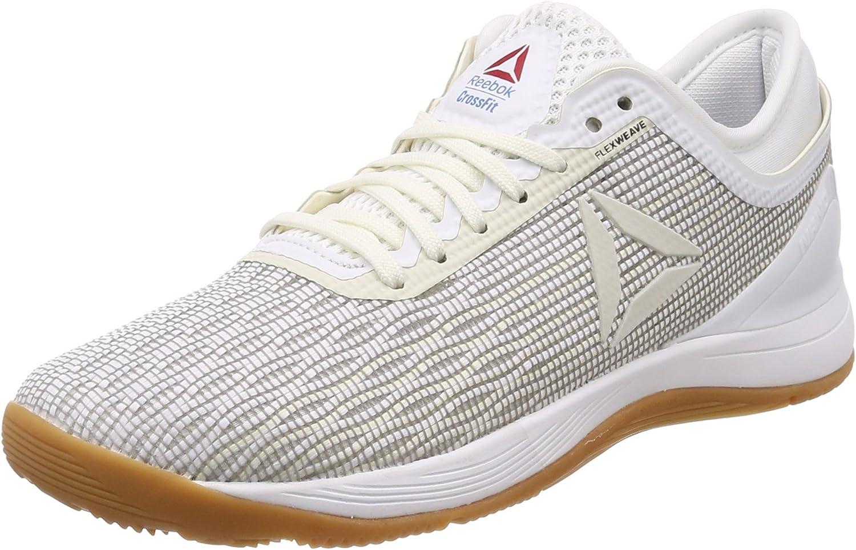 Reebok R Crossfit Nano 8.0, Zapatillas de Deporte para Niñas, Blanco (White/Classic White/Excellent Red/Blue/G 000), 35 EU: Amazon.es: Zapatos y complementos