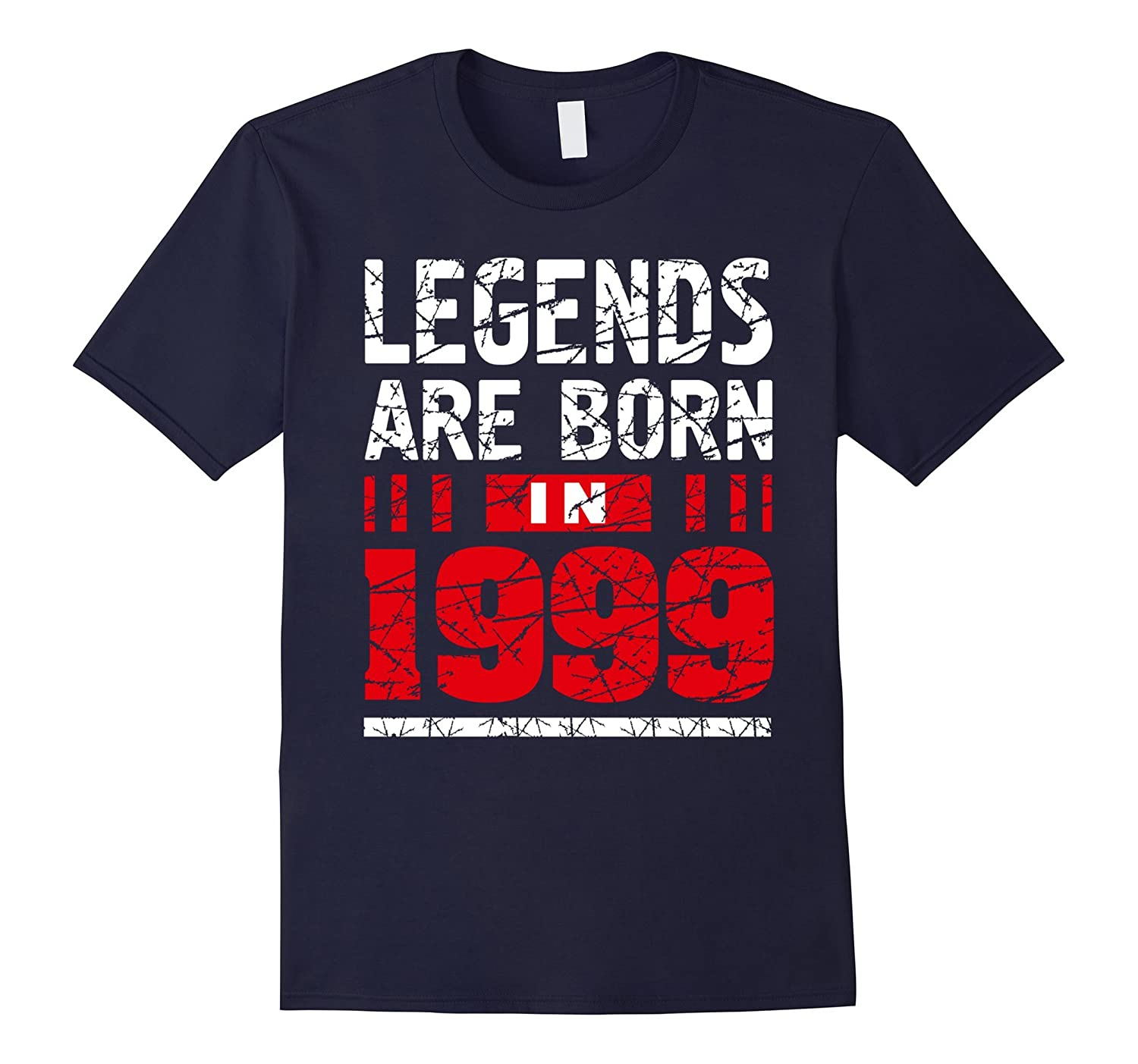 18th Birthday Gifts Boy Girls Legends Are Born in 1999 Shirt-CD