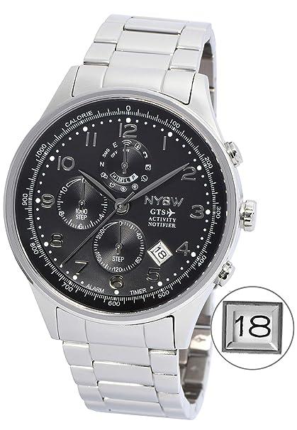 Amazon.com : NYSW World Best Thinnest Luxury Smart Watch ...