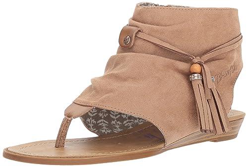 9cb985dc4a9f Blowfish Women s Brueke Wedge Sandal  Amazon.co.uk  Shoes   Bags