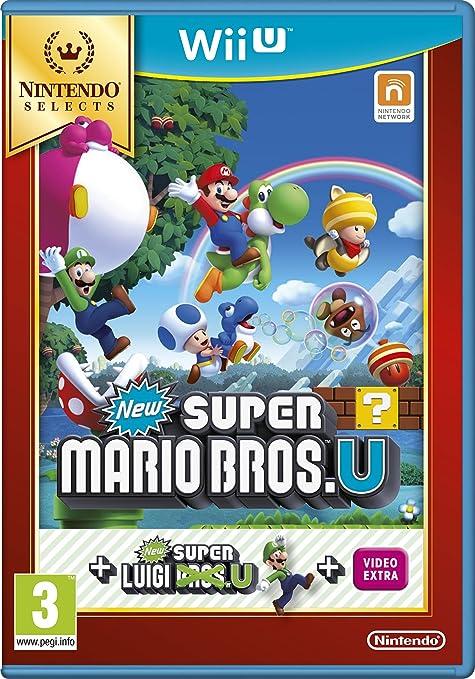 33 opinioni per New Super Mario Bros. U + New Super Luigi U- Nintendo Selects- Nintendo Wii U