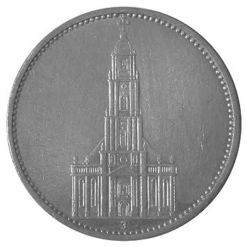 5 Mark Silber Garnisonskirche 1934 D Prägestätte München Amazonde
