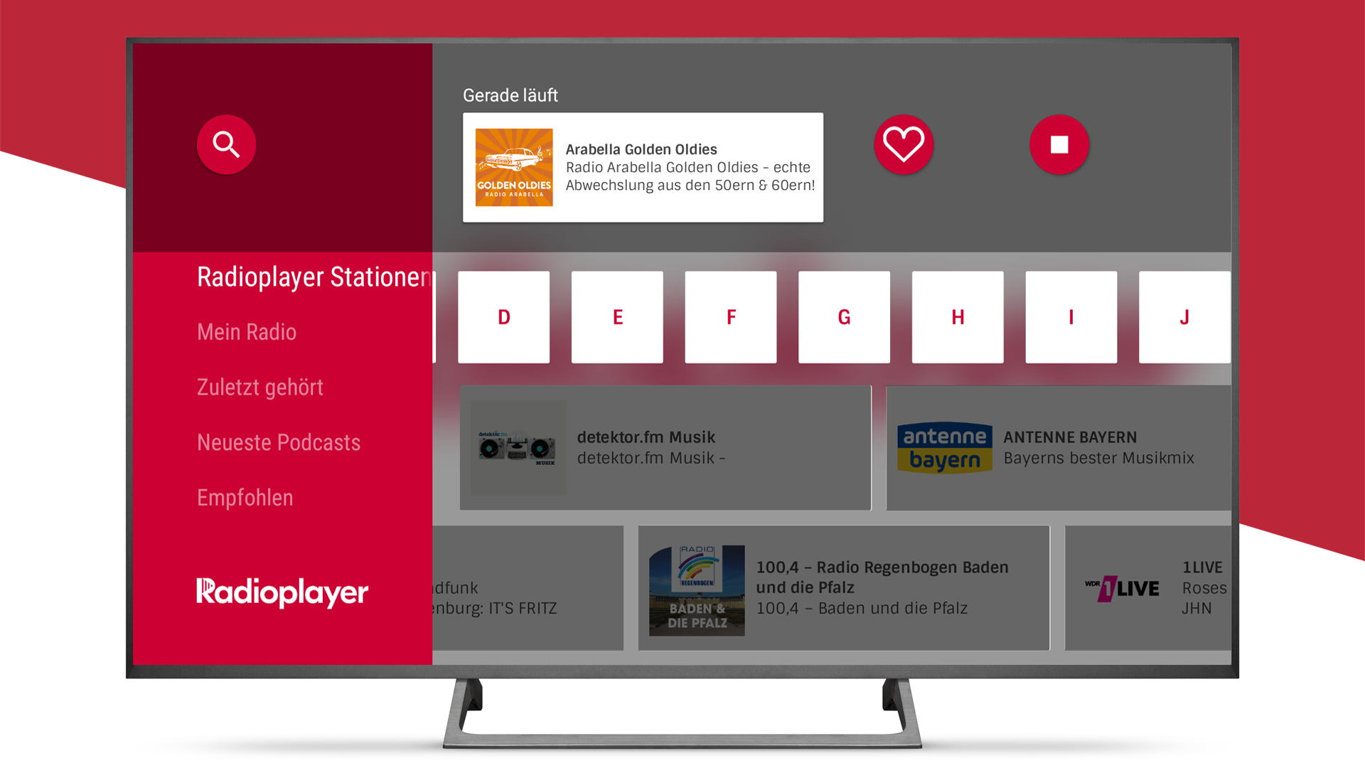 Radioplayer - Free German Radio App: Amazon.es: Appstore para Android